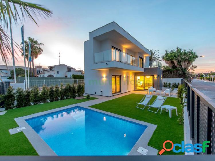 Villas de 3d o 4d con piscina en santiago de la ribera