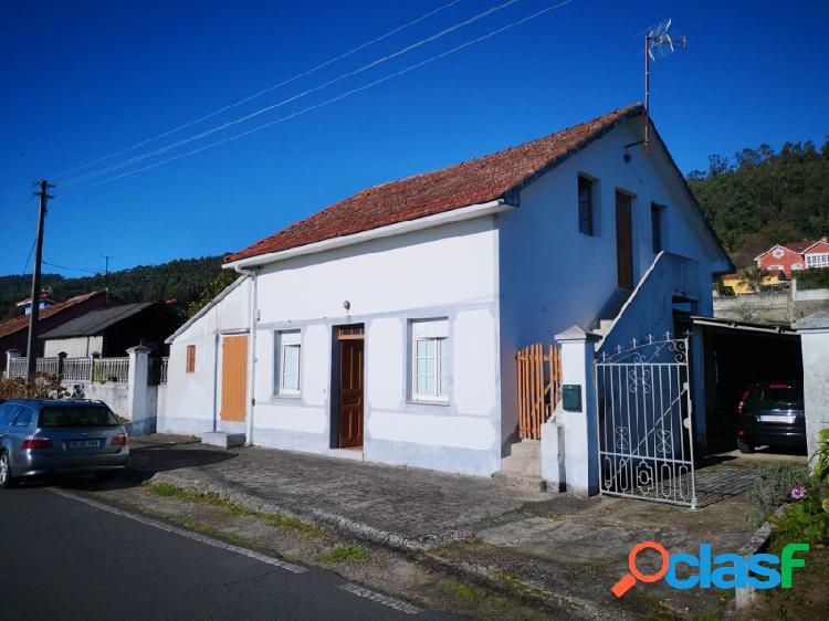 Casa en viladoniga-serantes, habitable. posibilidad de segregacion