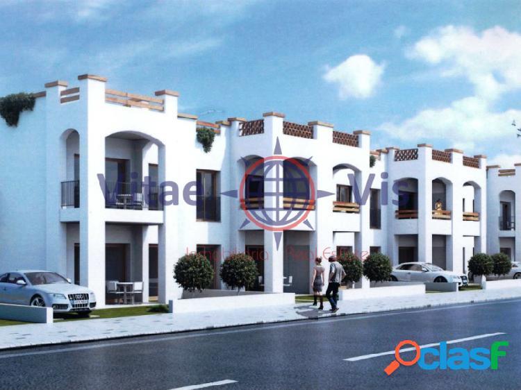 Promoción de viviendas en urbanización cerrada