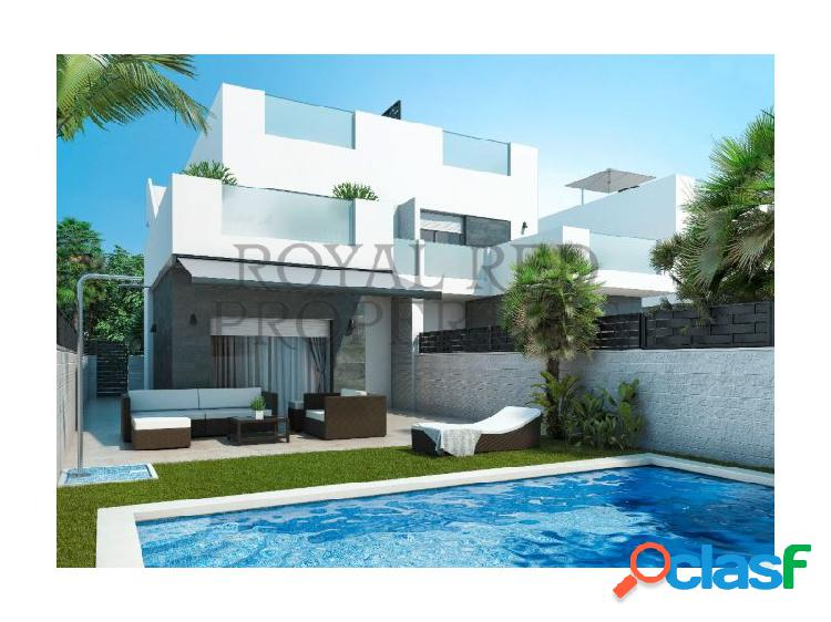 Villas modernas en super ambiente