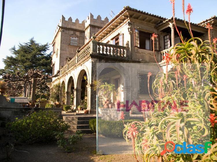 ¡único y magnífico pazo en vigo, venta o alquiler, vistas ría y ciudad!