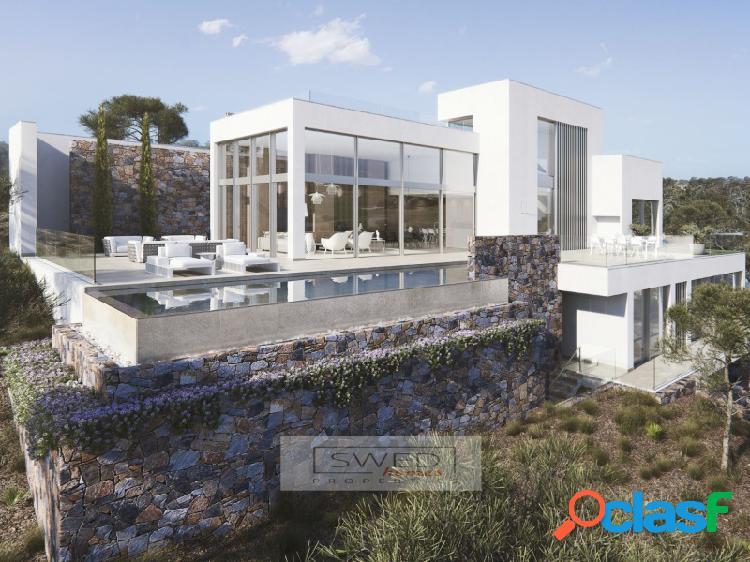 Villa de lujo en las colinas.