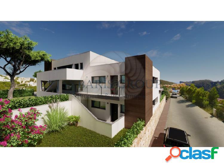 Sybaris gardens: apartamentos de estilo moderno en cumbres del sol, benitachell, javea