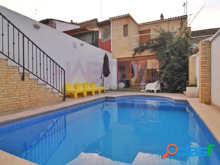 Vivienda independiente de con piscina en plena ciudad de valencia