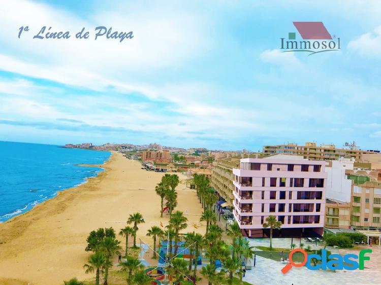 Apartamentos de lujo en primera línea de playa