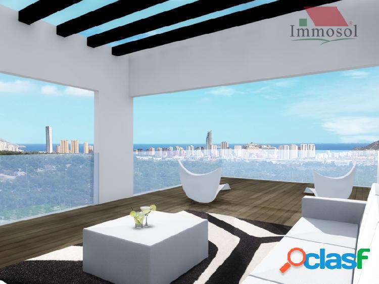 Villas lujosas con vista al mar en panoramic beach resort finestrat - benidorm
