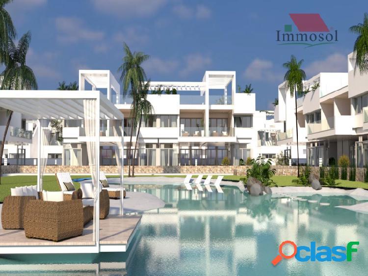 Bungalows de lujo con piscina en laguna beach resort - torrevieja