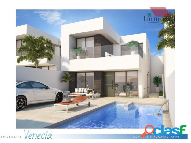Nueva construcción de villas en Benijofar