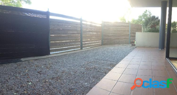 Piso con gran terraza