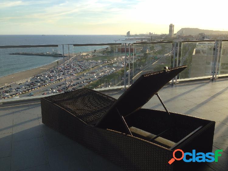Piso de lujo con vista magnificas al mar y a barcelona