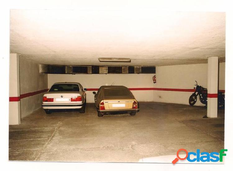 Garaje doble y trastero