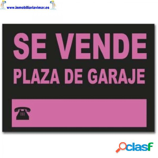 Plaza de garaje en barrio san julián