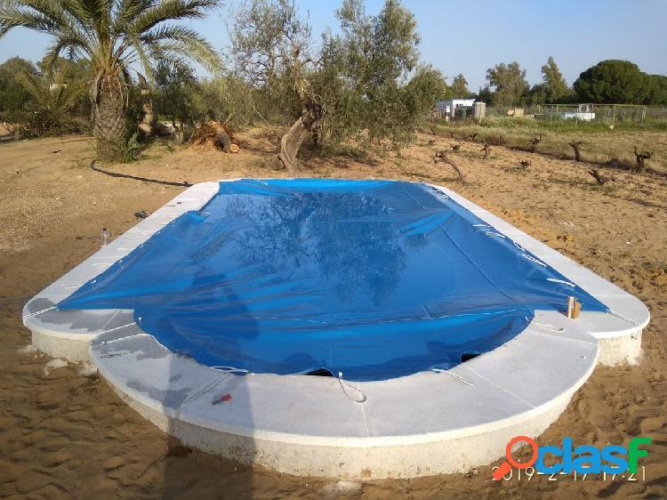 """Chalet amueblado con 5.000 m2. parcela, piscina, huerto, arboles frutales, zona """"vereda bajonal"""""""