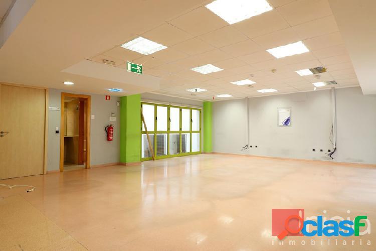 Oficinas en primera línea comercial del centro de alicante, 260 m2.