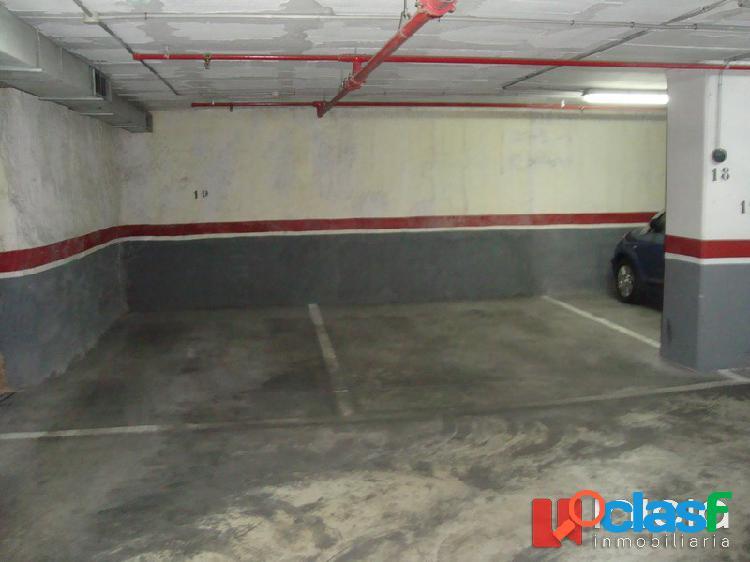 Plaza de garaje en pleno centro de alicante