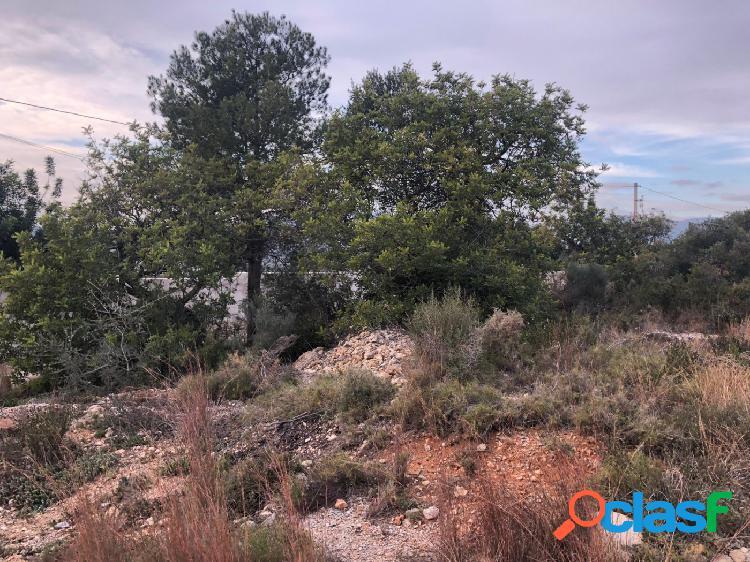Terreno urbano en borriol, zona urbanización vall d´umbrí-mollo, 2000 m. superficie parcela.