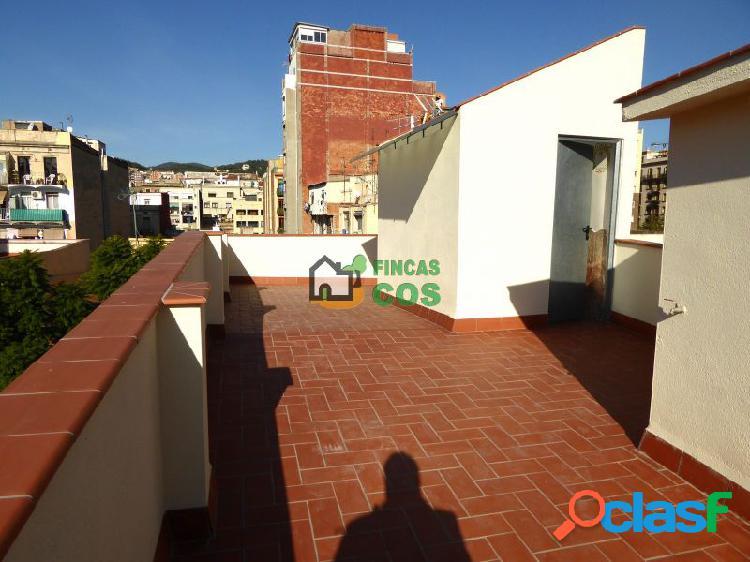 Ático de obra nueva con gran terraza