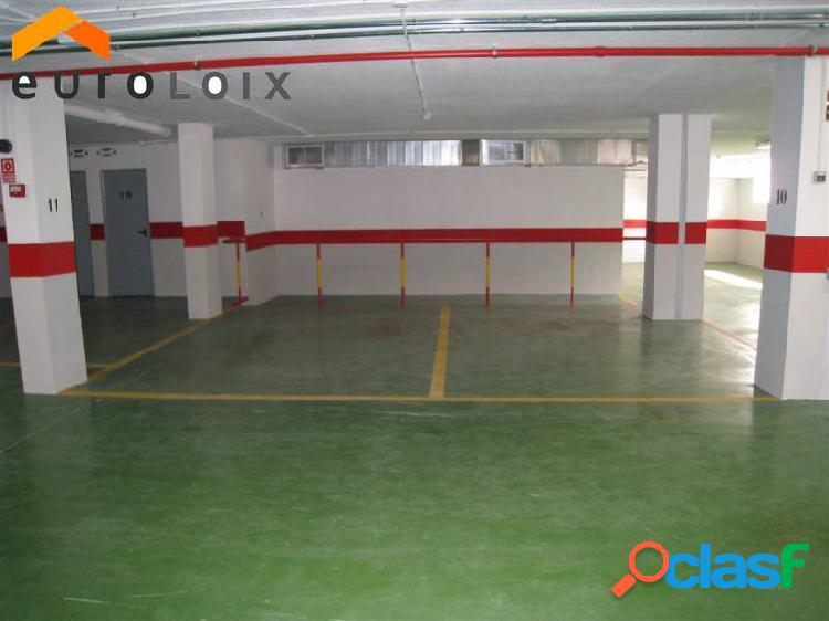Alquiler de plaza de garaje con posibilidad de trastero en benidorm. www.euroloix.com