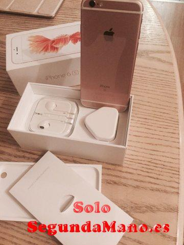 Apple iphone 6s 16 gb color oro rosa