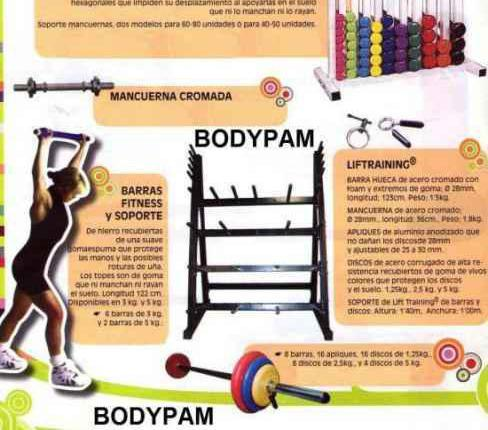 Bodypump, bodypam, liftraining