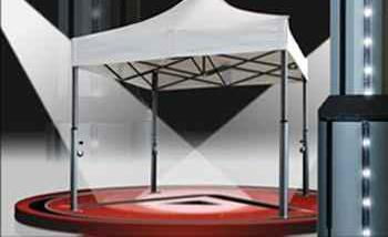 Carpa plegable aluminio 3x3
