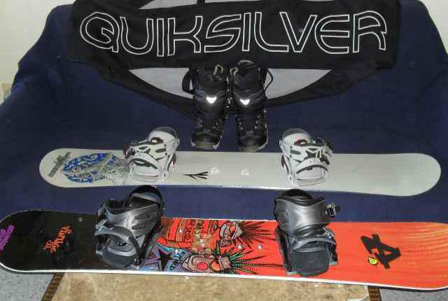 Snowboard pack
