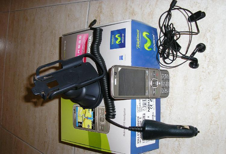 Vendo movil navegator 6710 nokia
