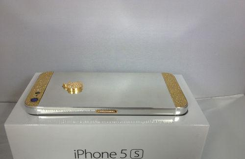 Iphone 5s 64gb oro (ed.) platinum y 24ct
