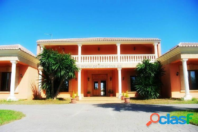 Espectacular villa de lujo en denia