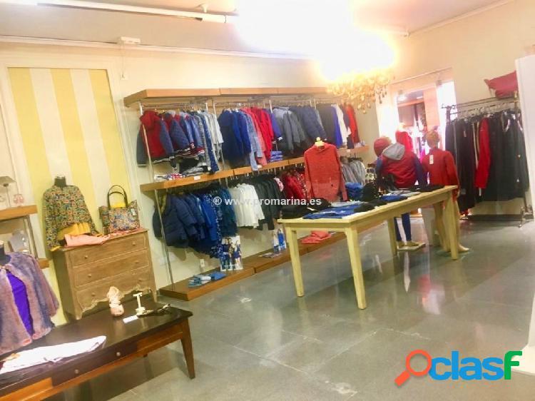 Local comercial destinado a tienda de ropa en Denia 3