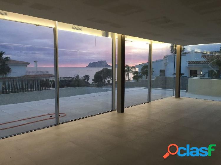 Nueva construcción, villa moderna de diseño en venta con impresionantes vistas al mar
