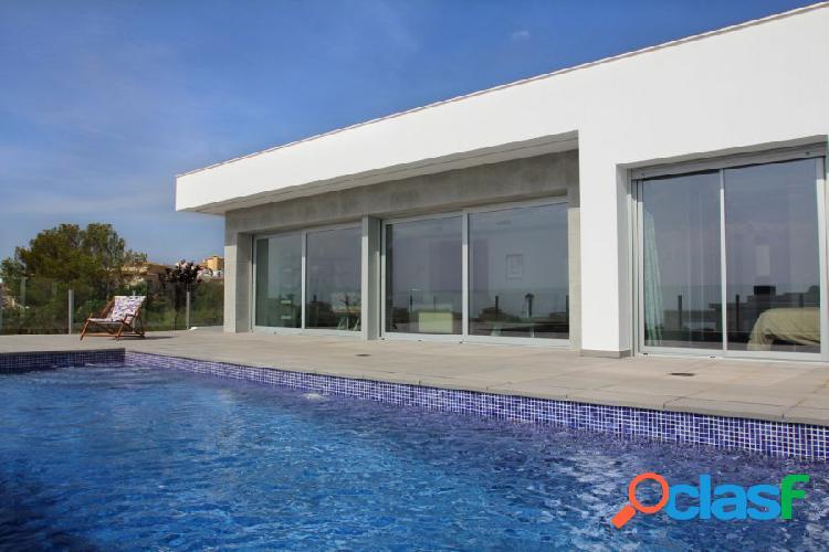 Villa de diseño en Cumbre del Sol entre Javea y Moraira 1