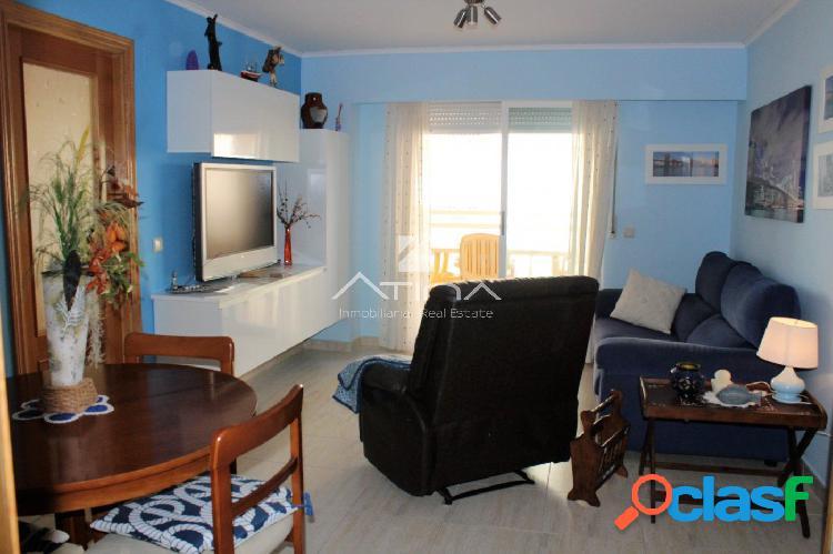 Precioso apartamento con vistas al mar situado en 1ª linea playa Daimús, 3