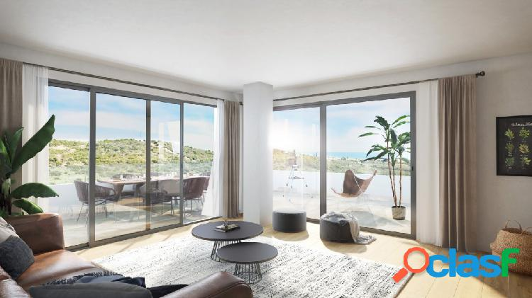 Promoción de viviendas de 2 y 3 dormitorios en Estepona