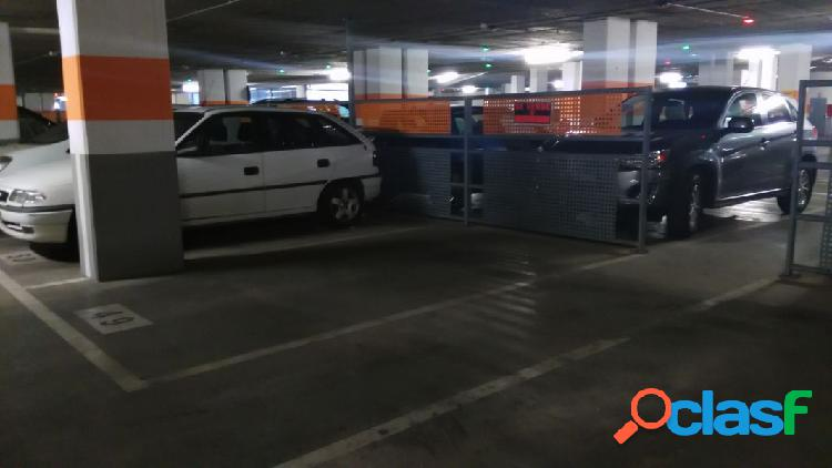 Plaza de parking en hospital provincial
