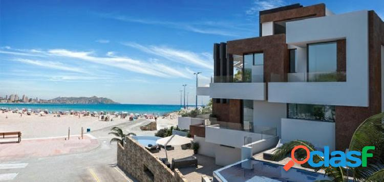 Proyecto nuevo viviendas de lujo en primera linea de playa poniente benidorm