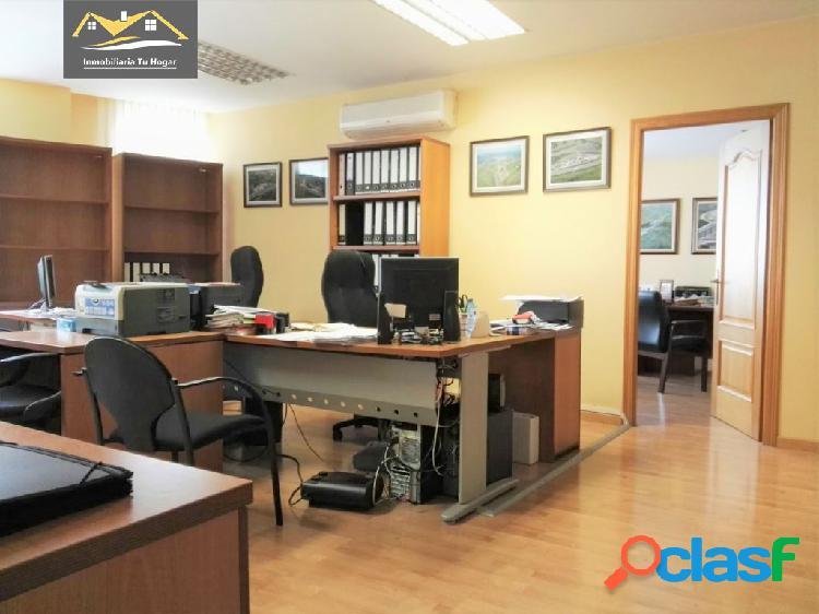 Se alquila oficina amueblada de 95m2 en zona parque de san lázaro. ref: 01610