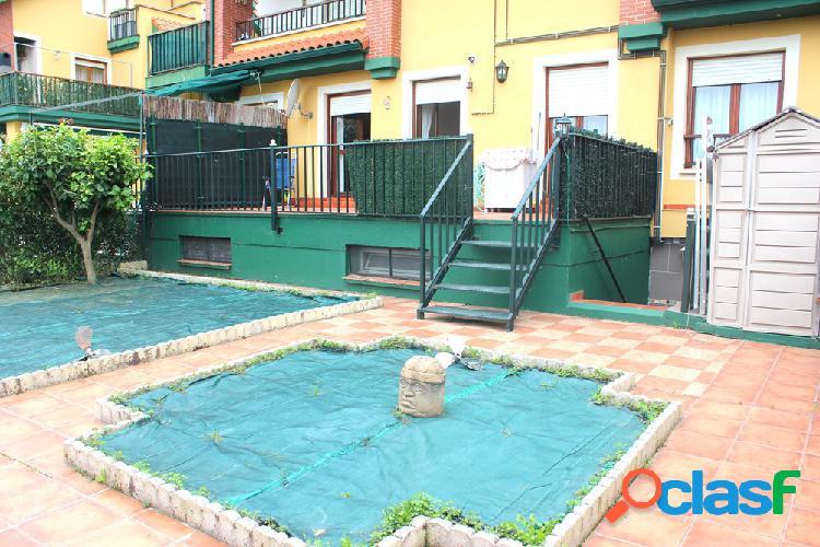 Bajo con jardin y terraza de 2 habitaciones en gama (cantabria).