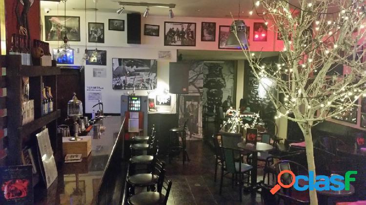 Local acondicionado como bar