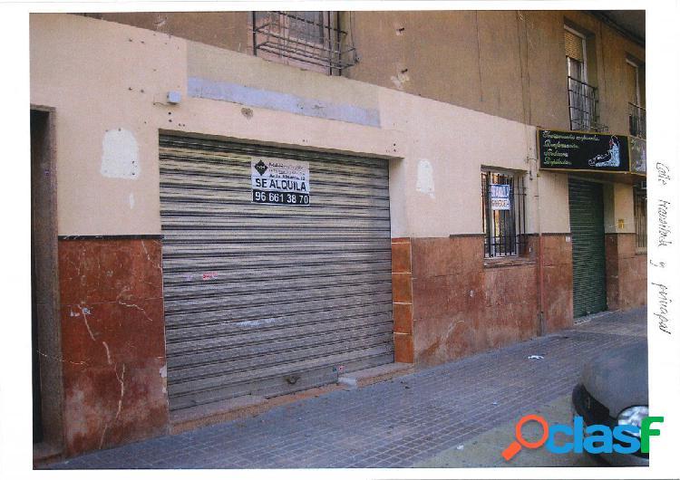 Local comercial en elche zona carrus-parque 1 de mayo, 216 m2