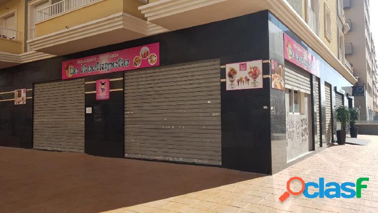 Local comercial en elche zona altabix, 116 m2. de superficie, 94 m2 de terraza