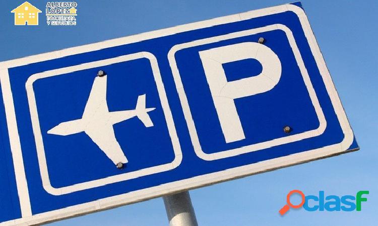 Se alquila terreno aeropuerto elche - alicante para parking de coches 12174 m2