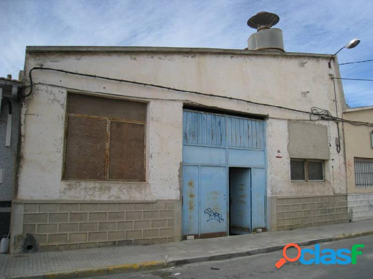 Inmobiliaria san jose villas and houses vende nave industrial en aspe