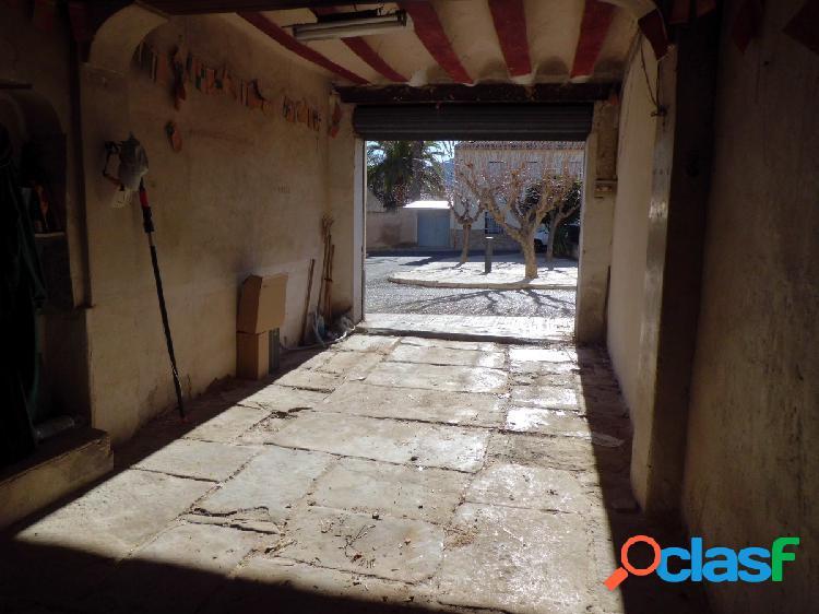 Casa solar chinorlet monover (alicante)