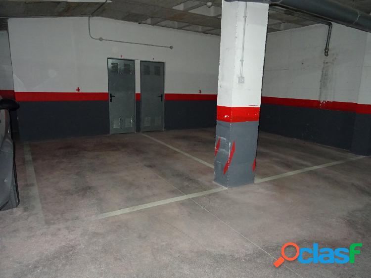 Se vende o alquila plaza de garaje en la zona de la estación de autobuses en aspe