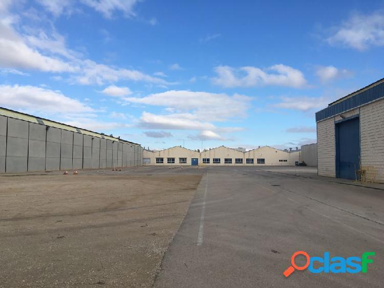 Terreno industrial y nave en el polígono industrial campollano