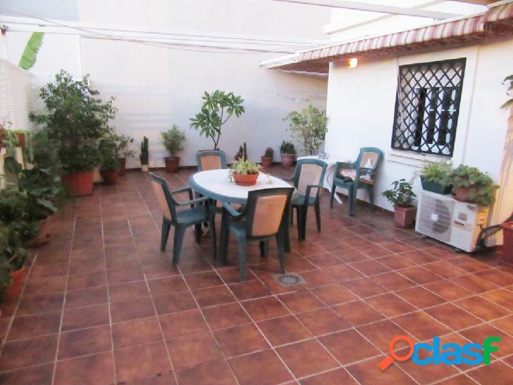 Bajo con hermosa terraza de 40 mts con sol de tarde!!! 3 dormitorios