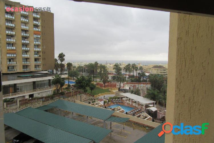 Piso primera linea de playa con cochera!!! puerto marina, amueblado!!!