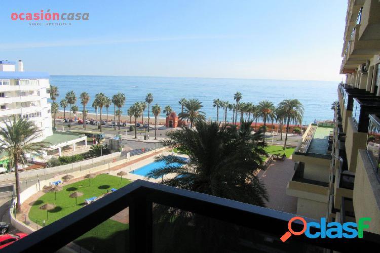Primera linea de playa - benalmadena - hermosa vista al mar!!!