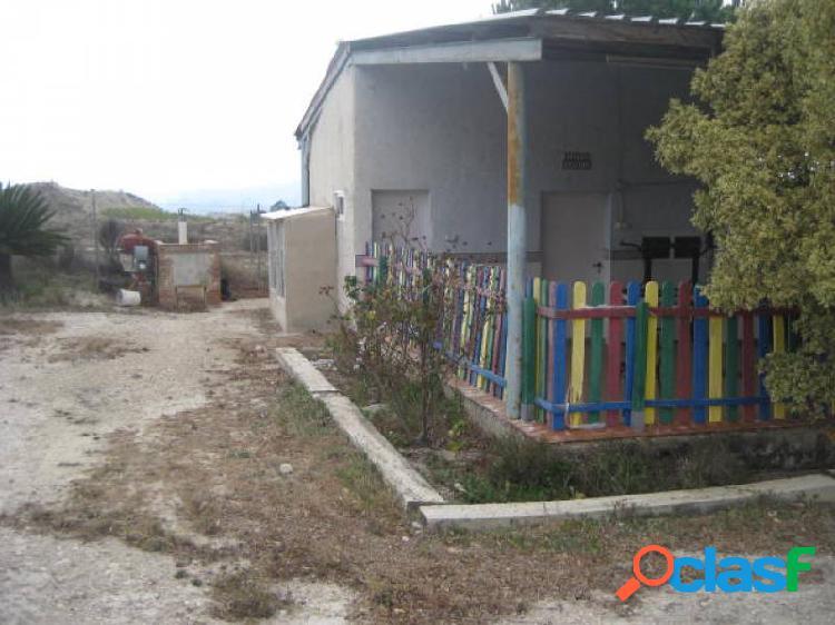Se vende casa acogedora con terreno en el fenazar, murcia